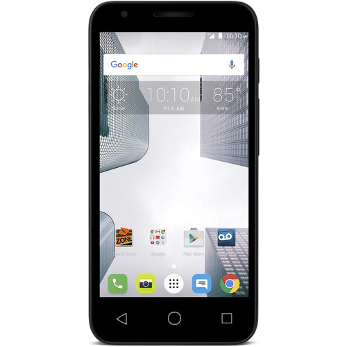 Boost Mobile Alcatel Dawn 8GB Prepaid Smartphone, Black