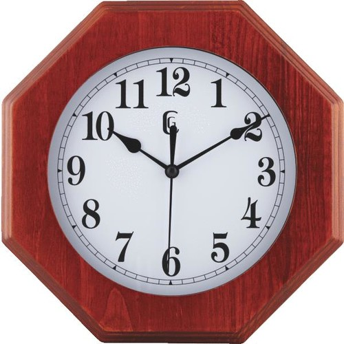 La Crosse Technology Octagonal Wall Clock - 404-26240