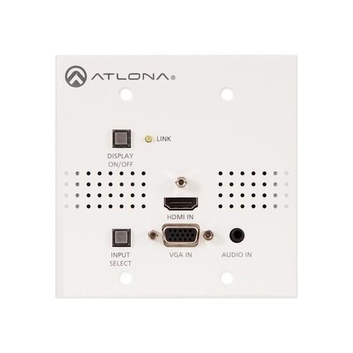 Atlona - Video/Audio Extender - White