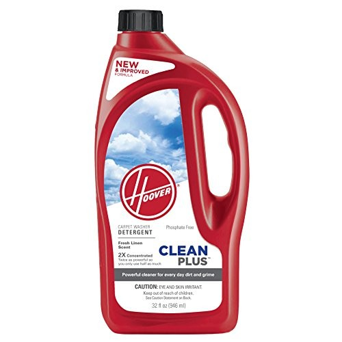 Hoover 2X CleanPlus Carpet Cleaner & Deodorizer 32 oz, AH30335NF