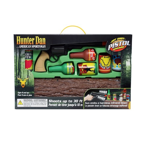 Hunter Dan Hot Shot Toy Pistol Arcade Set