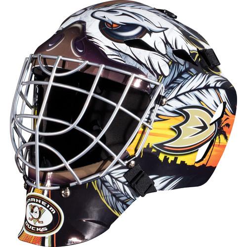 Franklin Sports GFM 1500 NHL Anaheim Ducks Goalie Face Mask
