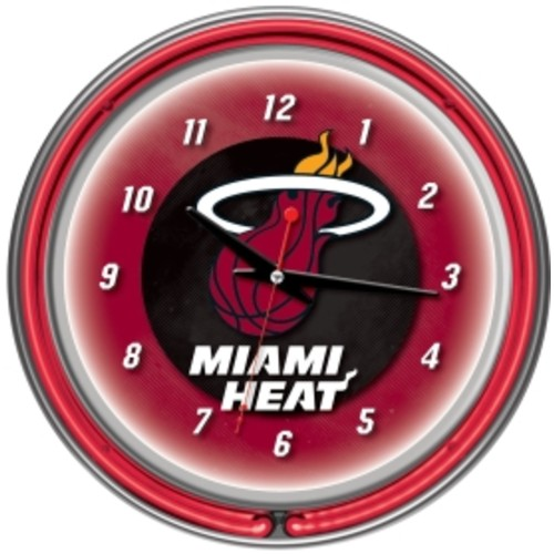 Trademark Games Miami Heat 14'' Neon Clock