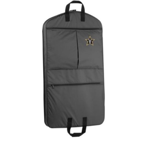 Wally Bags WallyBags Vanderbilt Commodores Black Polyester 40 inch Garment Bag with Pockets