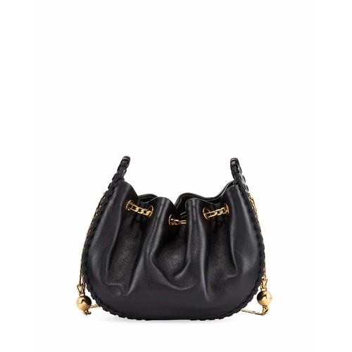 Sway Leather Bucket Crossbody Bag