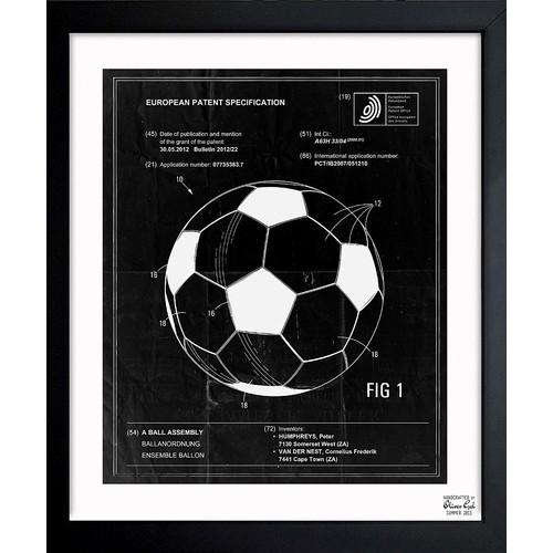 'Soccer Ball 2012' Framed Art