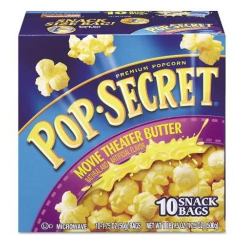 Pop Secret Popcorn, Movie Theater Butter, Popcorn, 1.75 oz (28783)