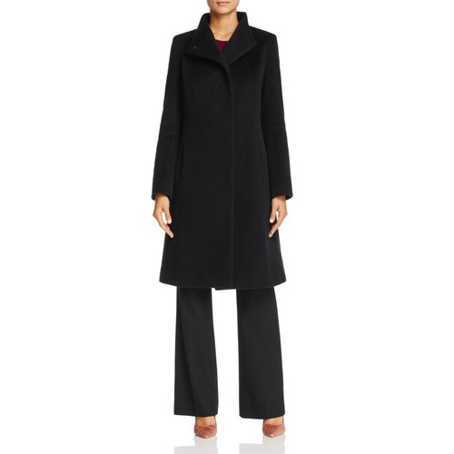 Wool & Cashmere Stand Collar Coat