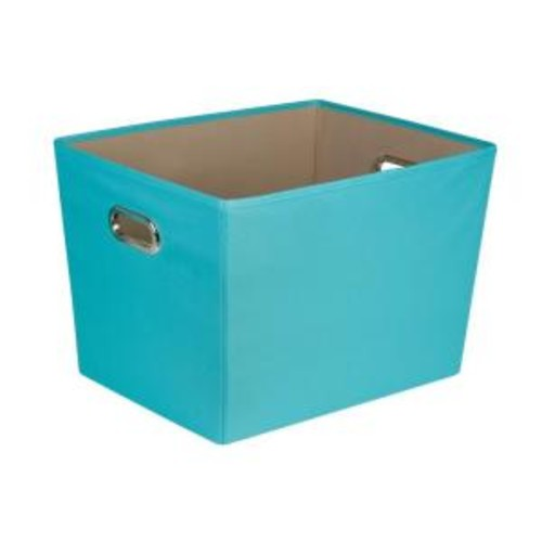 Honey-Can-Do 58 Qt. Large Decorative Storage Bin with Handles