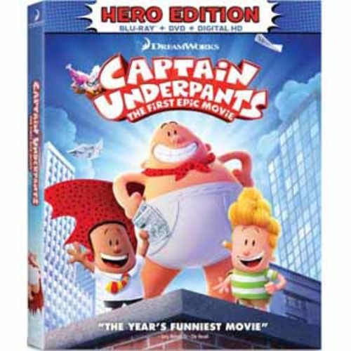 Captain Underpants: The First Epic Movie (Hero Edition) [Blu-Ray] [DVD] [Digital HD]
