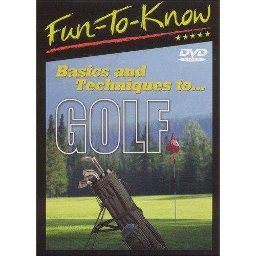 Fun To Know: Basics and Techniques to...Golf [DVD]