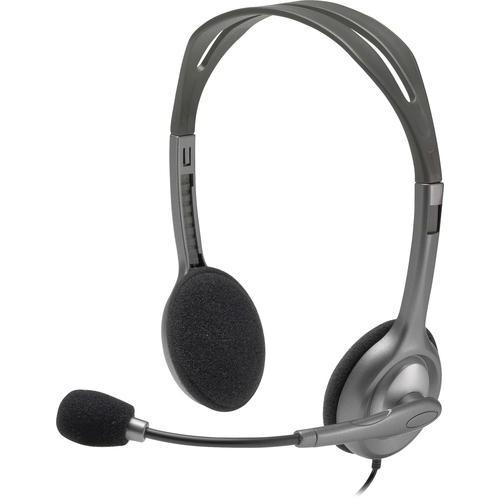 Logitech - H111 On-Ear Headphones - Gray