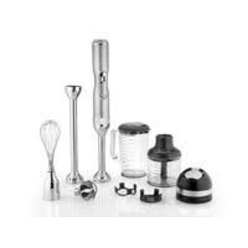 KitchenAid Pro Line 5-Speed Sugar Pearl Silver Cordless Immersion Blender