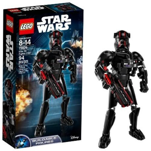 LEGO Constraction Star Wars The Last Jedi Elite TIE Fighter Pilot 75526