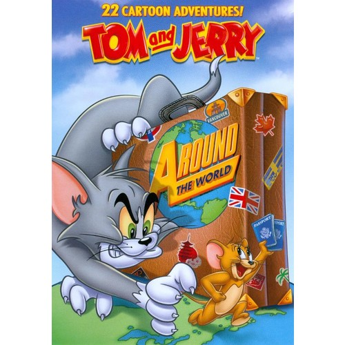 Tom and Jerry: Around the World [DVD]