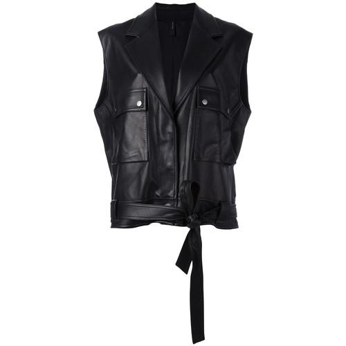 HELMUT LANG Sleeveless Oversized Jacket