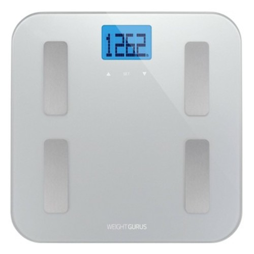 Weight Gurus AppSync Smart Scale with Body Composition - Silver