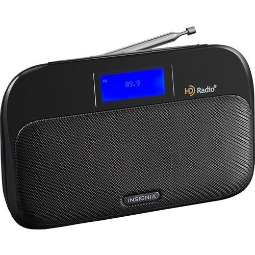 Insignia - Tabletop HD Radio - Black