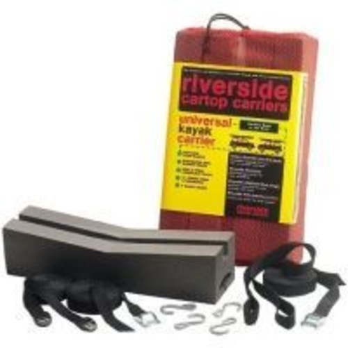 Riverside Universal Kayak Kit 068233, Length: 18, Color: Black, Additional Features: No Base Rack Required, w/ Free S&H