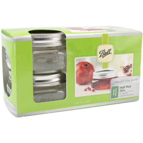 Ball Wide Mouth Canning Jars 4/PkgPint