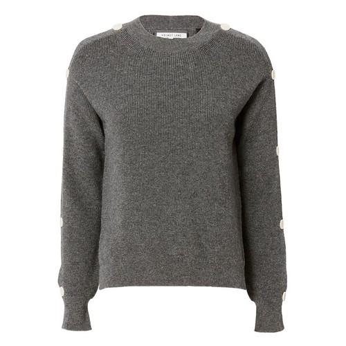 HELMUT LANG Button Sleeve Knit