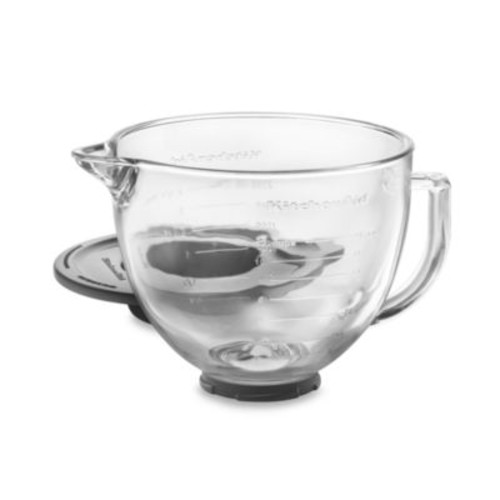 KitchenAid Glass Bowl for 5-Quart Artisan and Tilt-Head Stand Mixers