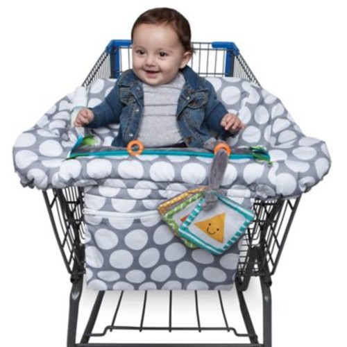 Boppy Luxe Shopping Cart Cover in Jumbo Dots