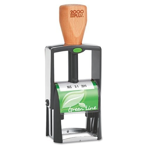 COS039307 - Consolidated Stamp 2000 PLUS Green Line Self-Inking Heavy Duty Stamp