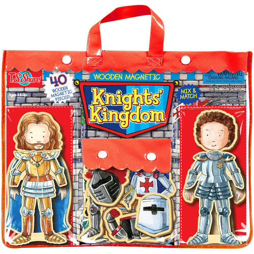 T.S. Shure Knights' Kingdom Wooden Magnetic Heroes