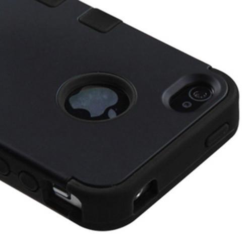 Insten Brown/Black Vines Tuff Hard PC/ Silicone Dual Layer Hybrid Rubberized Matte Case Cover For Samsung Galaxy Core Prime
