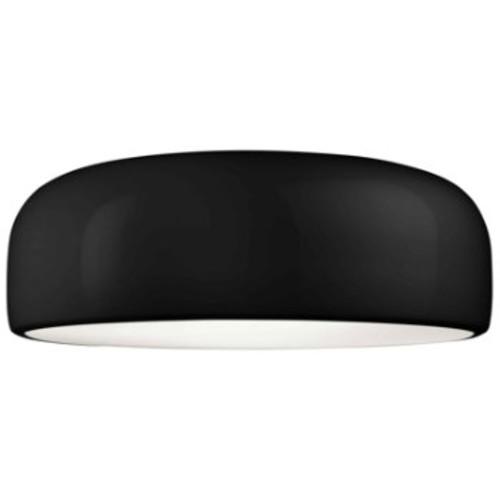 Smithfield C Flushmount [Light Option : Halogen; Shade Color : Black]