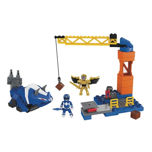 Mega Construx Power Rangers Blue Ranger Battle Pack