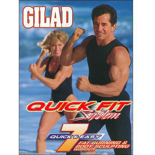 Gilad: Quick Fit System - 7 Fat Burning Body Sculpting Workouts [4 Discs] [With CD-ROM] (DVD) (Eng)