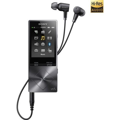 Sony - Walkman NW-A20 Series 32GB* Hi-Res Digital Audio Player - Charcoal Black