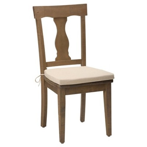 Slater Mill Reclaimed Pine Splat Back Dining Chair Wood/Light Brown (Set of 2) - Jofran Inc.