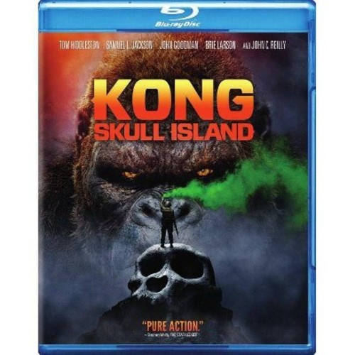 Kong: Skull Island [Blu-Ray] [DVD] [Digital HD]