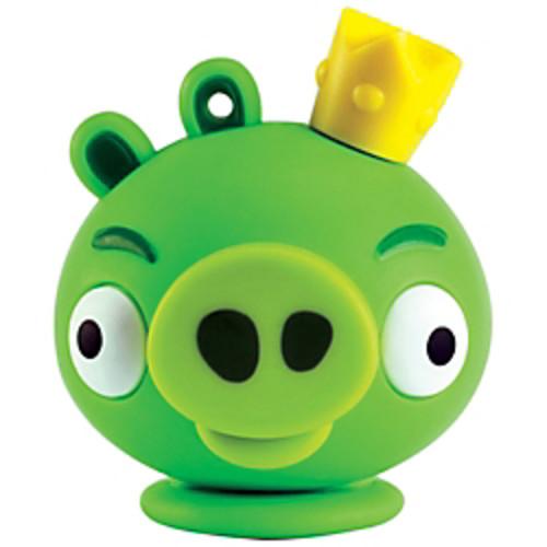 Emtec Angry Birds USB Flash Drive, 4GB, King Pig