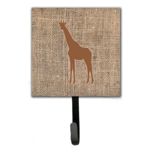 Caroline's Treasures Giraffe Leash Holder and Wall Hook