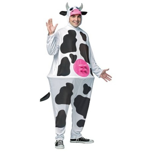 Hoopster Cow Costume One Size Fits Most