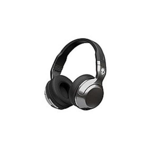 Skullcandy Hesh 2 Wireless - Silver/Black Bluetooth Headphones (S6HBHY-516)