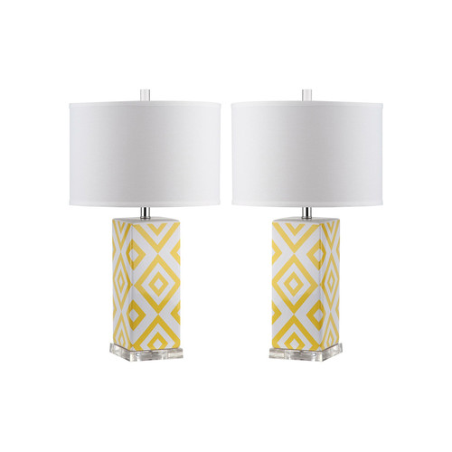 Diamonds Table Lamps (Set of 2) by Safavieh