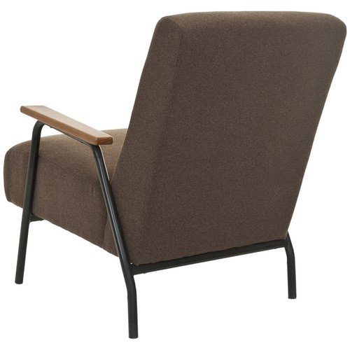 Safavieh Mid-Century Brown Club Chair