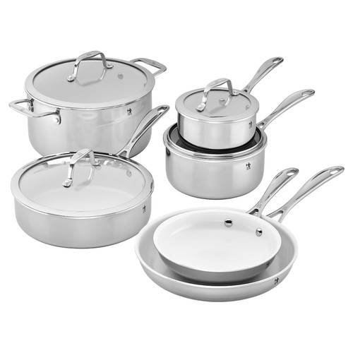 J.A. Henckels International 10-pc. Ceramic Interior Cookware Set