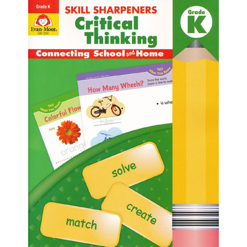 Skill Sharpeners Critical Thinking Grade Kindergarten Workbook