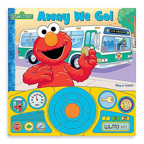 Sesame Street Big Fire Truck Steering Wheel Sound Book