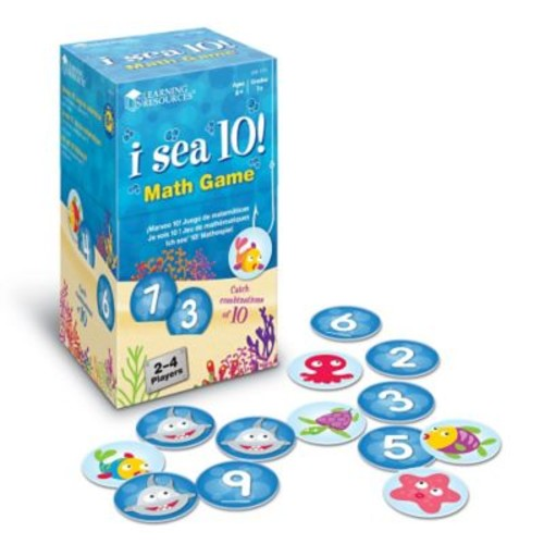 Learning Resources I Sea 10! Game, Grades 1+