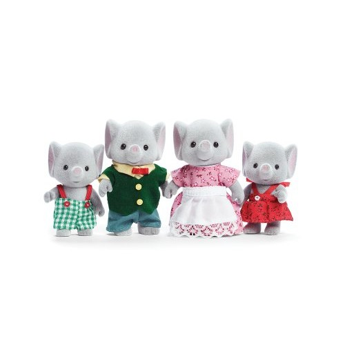 International Playthings Calico Critters Ellwoods Elephant Family