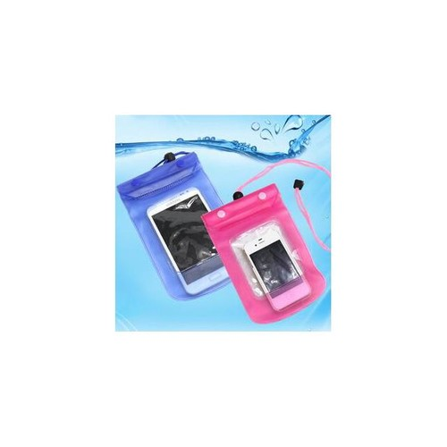 sport Swimming smartphone bag Waterproof Dry Mobile Phone Bag Case Transparent With Scrub 7colors