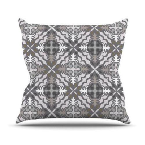 KESS InHouse Let In Snow Throw Pillow