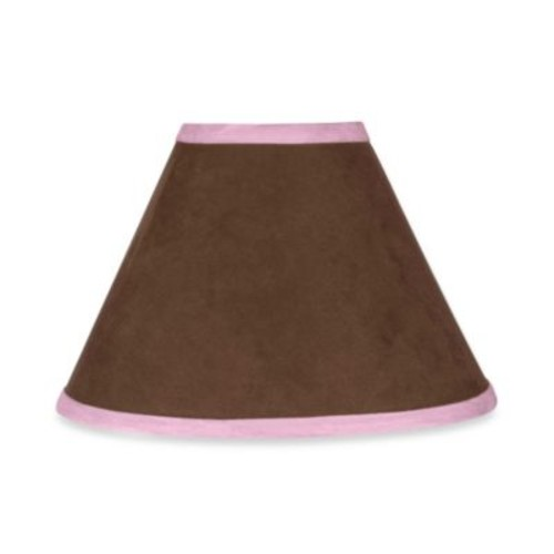 Sweet Jojo Designs Soho Lamp Shade in Pink/Brown